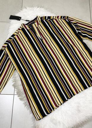 Нова блуза в полоску