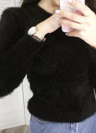 Светр, свитер, в'язаний светр, в'язаний свитер травка
