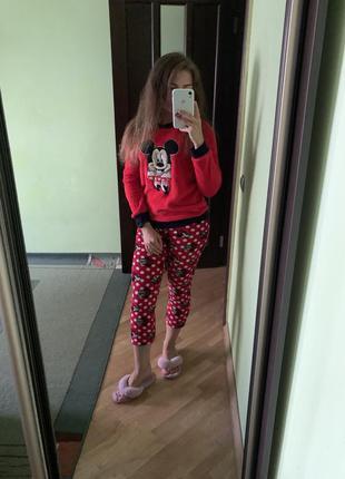 Піжама, пижама, новорічна піжама, новогодняя пижама, микки маус