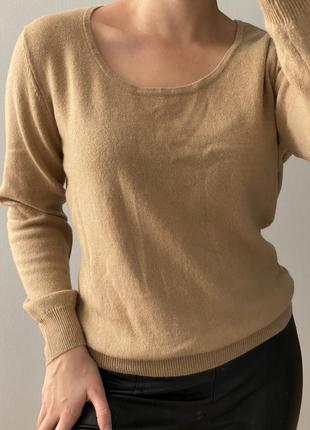 Шерстяний светр s-м кашемір ,шерсть