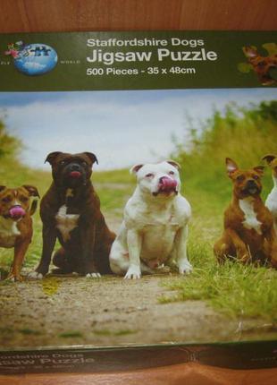 "Пазлы ""jigsaw 500 шт. ""staffordshire dogs """