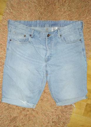 Мужские джинсовые шорты w36 l34