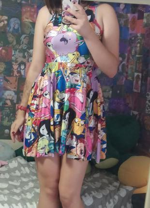 Платье время приключений adventure time
