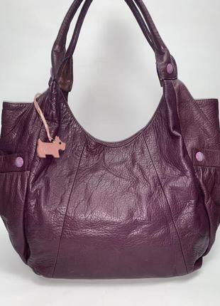 Англия! кожаная фирменная обьемная сумочка на плечо radley