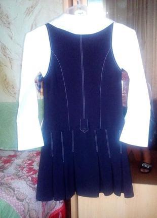 Продаюкрасивую школьную форму для девочки -сарафан и пиджачок helen-a для 1-4 класса