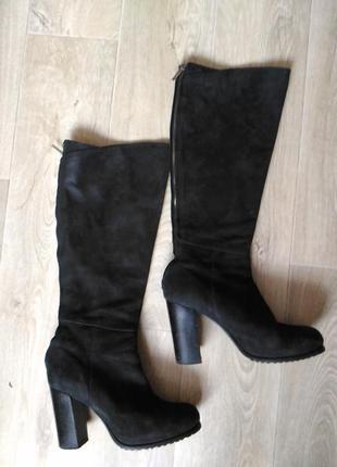 Демисезонные сапоги pair footwear италия натуральная кожа, нубук, размер 40