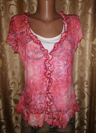 🌺🎀🌺очень красивая футболка, блузка per una🔥🔥🔥