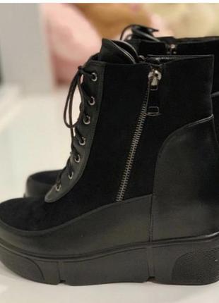 Ботинки на платформе, демисезон