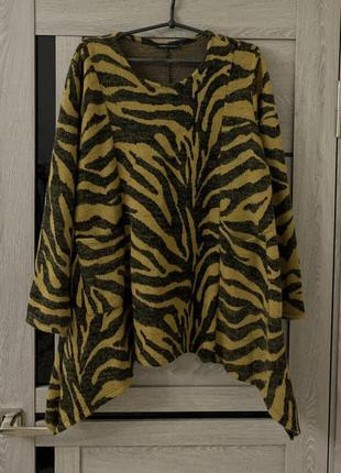 Кофта свитер с карманами