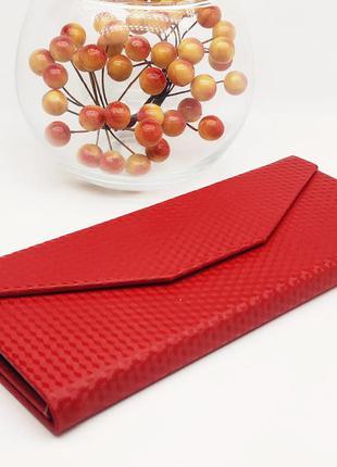 Красный складной футляр для очков на магните / футляр для окулярів