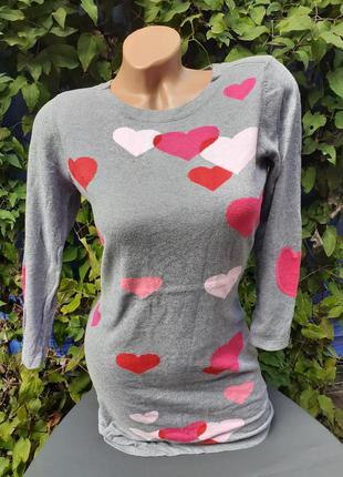 Платье теплое деми демисезонное осень осеннее сердце сердечко трикотажное трикотаж