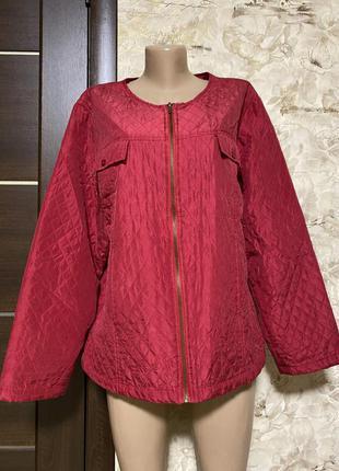 Изумительная стёганная шёлковая куртка ewi of finland