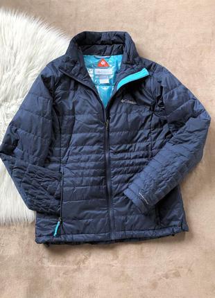 Женская демисезонная теплая термо куртка columbia omni-heat