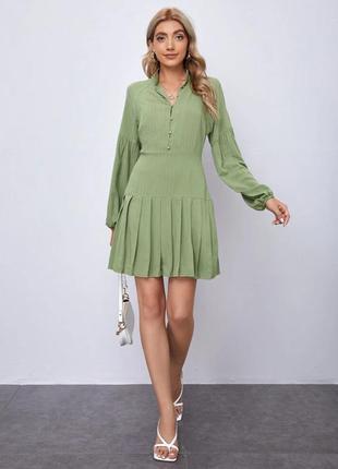 Красивое платье рубашка модель 2021