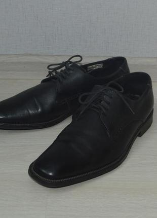 Фирменные кожаные туфли lloyd, 43 размер, отличное состояние