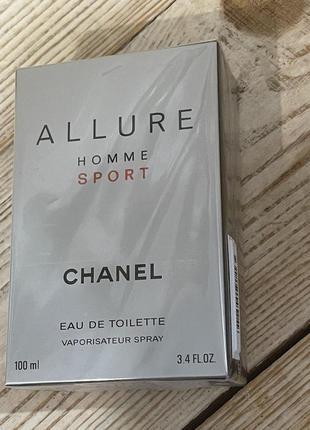 Туалетная вода в стиле chanel allure homme sport