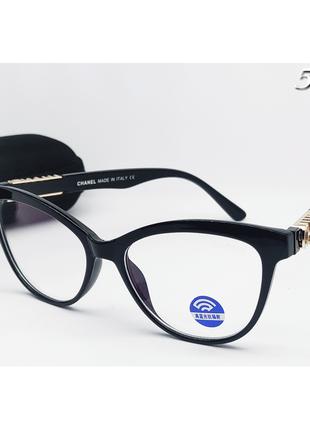 С футляром стильные компьютерные имиджевые очки