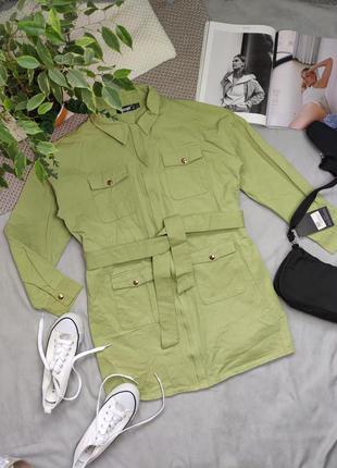 Куртка удлиненная рубашка