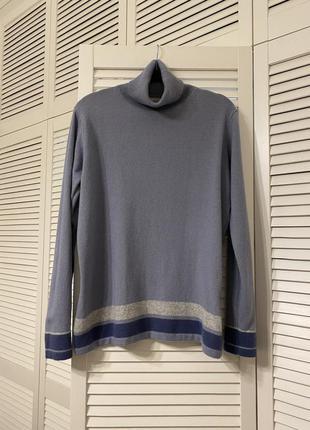 Мягчайший свитер из кашемира и шерсти мерино, л
