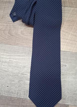 Giorgio armani винтажный шёлковый галстук люкс бренда