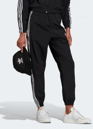 Штаны брюки adidas адидас черные чорні штани спортивные спортивні на резинке