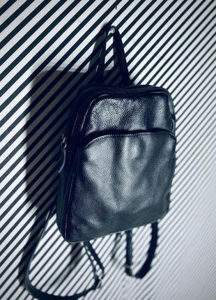 Кожаный рюкзак натуральная кожа