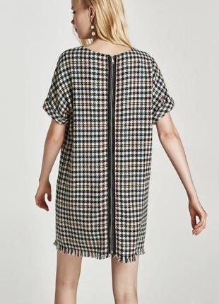 Твидовое платье