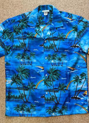 Оригинальная гавайская рубашка, made in usa