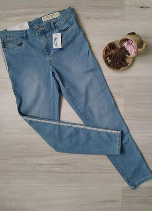 Женские джинсы с лампасами skinny fit размер 40-42