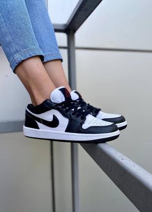 Nike air jordan 1 low 🍏 стильные женские мужские кроссовки найк джордани