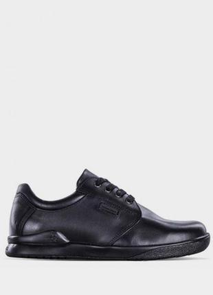 Чёрные кожаные туфли ботинки для мальчика 40 размер biomechanics
