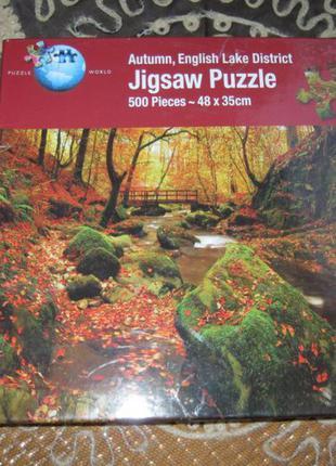 "Пазлы""jigsaw"" 500 шт. autumn english"