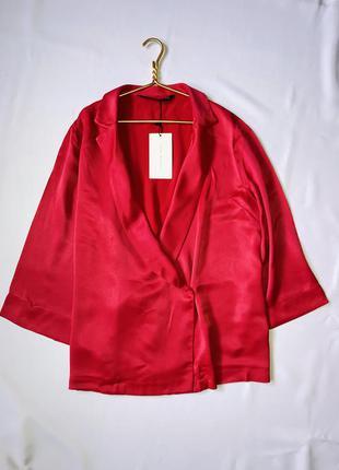 Zara розовый жакет / пиджак в стиле кимоно / блейзер