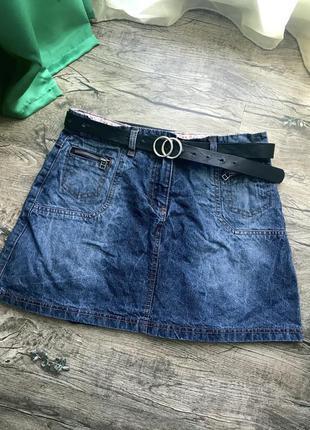 Юбка юбочка спідниця джинсова джинсовая