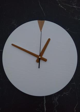 Годинник настінний дерев'яний handmade