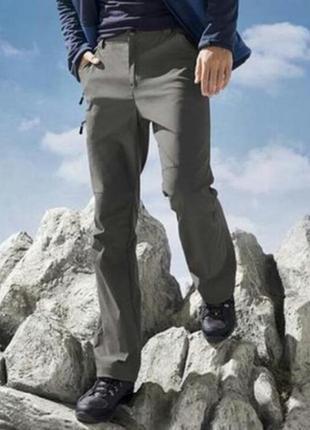 Мужские трекинговые штаны crivit оригинал германия размер eu 56, xl - xxl