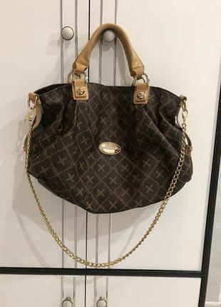 Большая сумка шопер claudia caneva оригинал