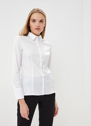 Классическая белая рубашка от hugo boss