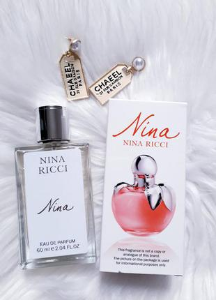 Nina 60мл тестер, духи, парфюм,нина, туалетная вода, парфуми