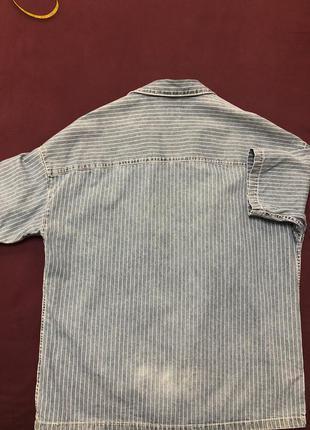 Oversize рубашка bershka размер м