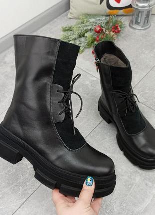 Ботинки зима💛