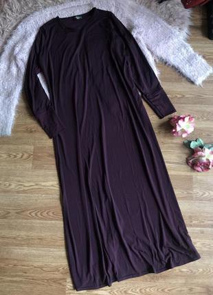 Длинное платье (2xl/3xl)