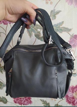 Актуальная кожаная сумка,топ продаж этого года