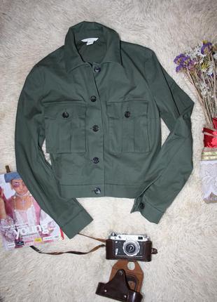 Пиджак . курточка , бомбер цвета хаки. ветровка h&m