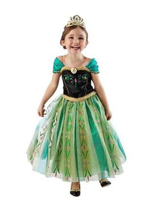 Платье принцессы анны холодное сердце продажа