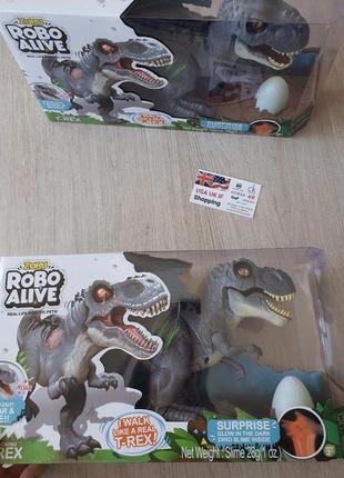 Интерактивный динозавр robo alive interactive attacking t-rex