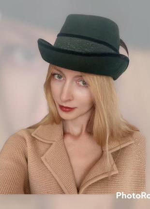 Шерсть шляпка на осень австрия geiger