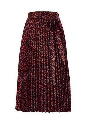 Модные вещи для пышных дам  юбка-миди плиссе, tchibo(германия)