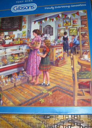 """Пазлы """"gibsons"""" 1000 штук the deli"""