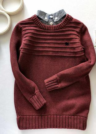 Кофта- обманка  артикул: 9596 свитер